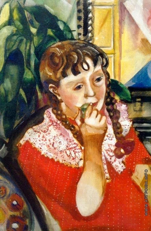 Шагал М. З. Портрет сестры Марьясинки