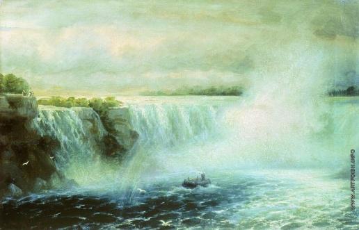 Айвазовский И. К. Ниагарский водопад