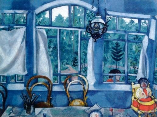 Шагал М. З. Окно в сад