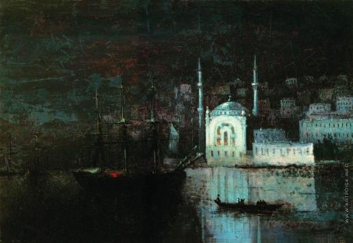 Айвазовский И. К. Ночной Константинополь