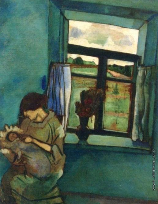 Шагал М. З. Белла и Ида у окна