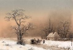 Айвазовский И. К. Зимний пейзаж