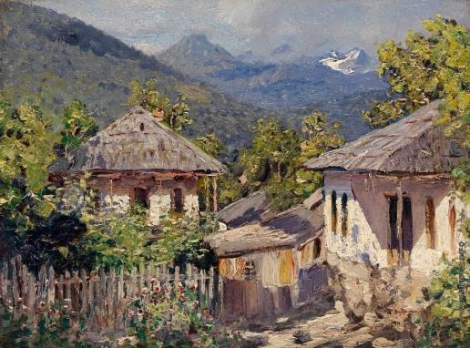 Дубовской Н. Н. Деревня в горах