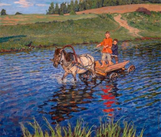 Богданов-Бельский Н. П. Брод