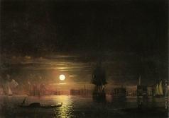 Айвазовский И. К. Ночь в Венеции