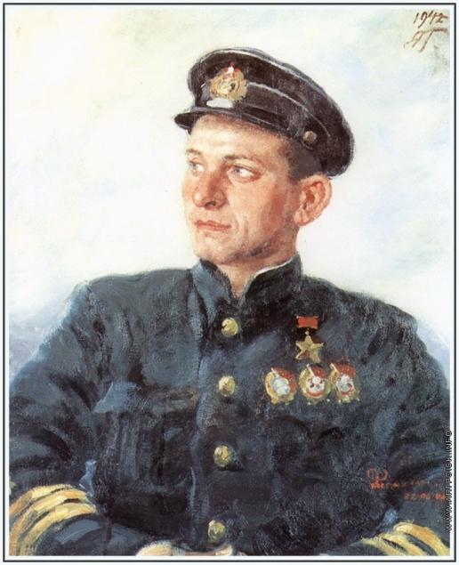 Герасимов А. М. Портрет И.И. Фисановича