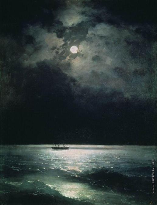 Айвазовский И. К. Ночь на Черном море