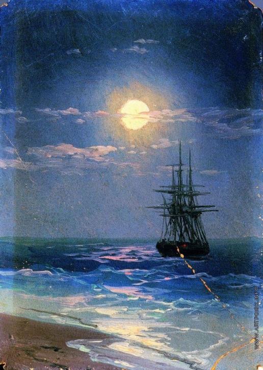 Айвазовский И. К. Ночь на море