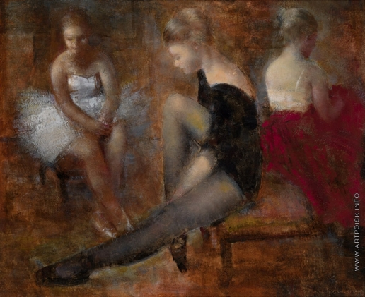 Глюкман Г. Е. Три танцовщицы