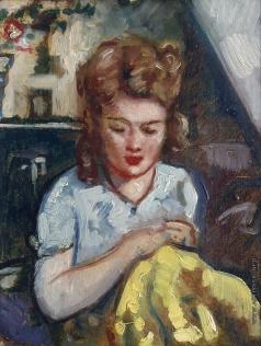 Синезубов Н. В. Женский портрет