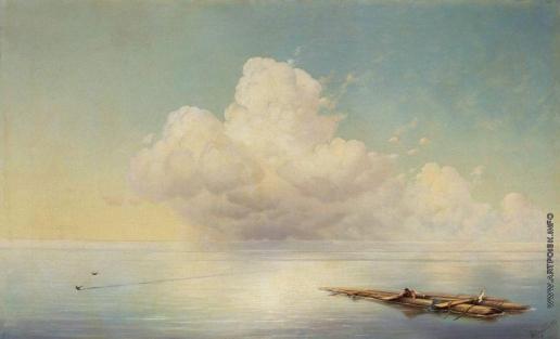 Айвазовский И. К. Облако над тихим морем