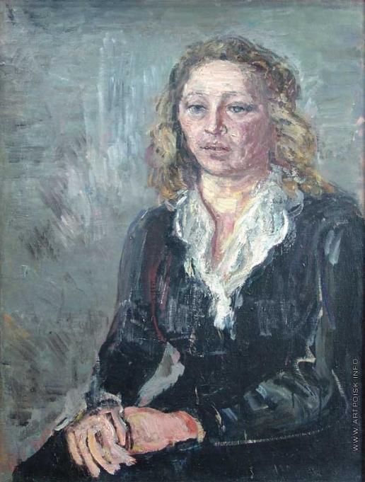 Древин А. Д. Женский портрет
