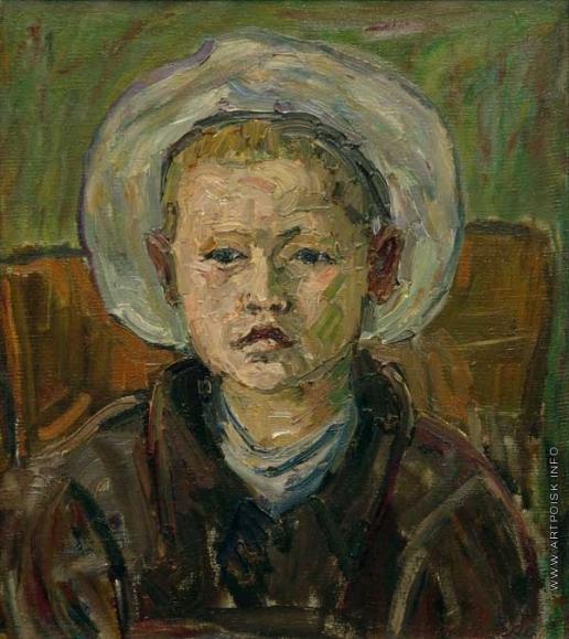 Древин А. Д. Портрет сына Андрея