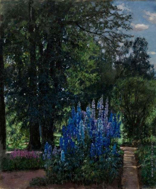 Жуковский С. Ю. Люпинусы в летнем саду