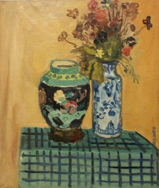 Русаков А. И. Натюрморт с вазами