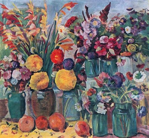 Сарьян М. С. Ереванские цветы