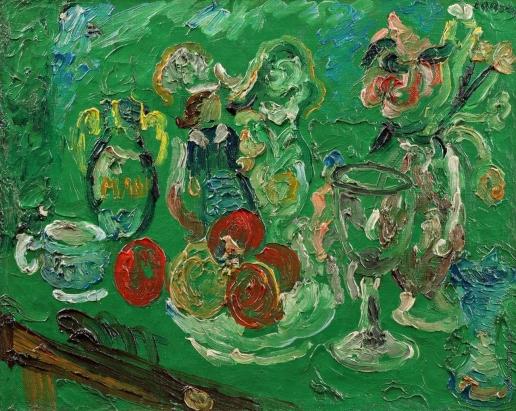 Ланской А. М. Графин и ваза с цветами