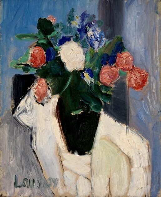 Ланской А. М. Ваза с розами
