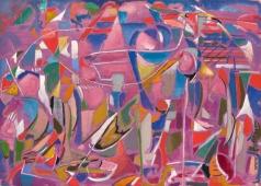 Ланской А. М. Розовая абстракция