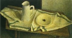 Вейсберг В. Г. Белый кувшин и тарелка на столе
