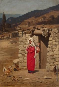 Грузинский П. Н. Крестьянская женщина