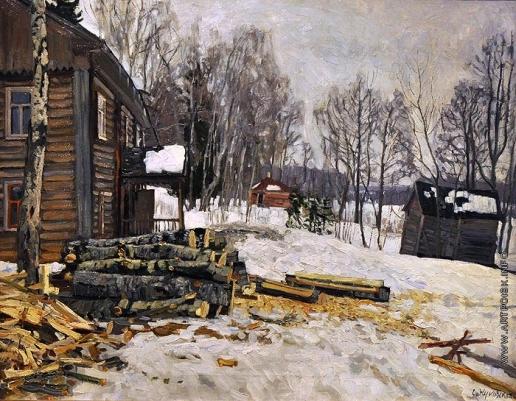 Жуковский С. Ю. Осиновые дрова
