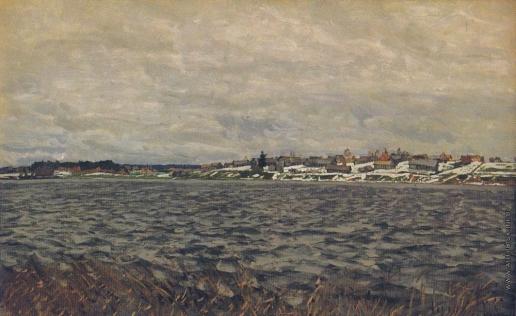 Жуковский С. Ю. Печальное озеро. (Унылое озеро)