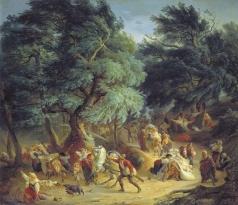 Басин П. В. Землетрясение в Рокка ди Папа близ Рима