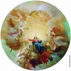 Басин П. В. Вознесение Богоматери