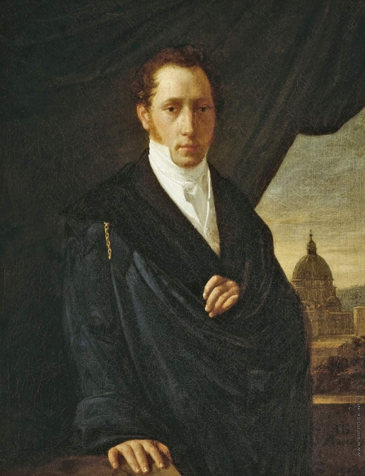 Басин П. В. Портрет художника С.Ф.Щедрина