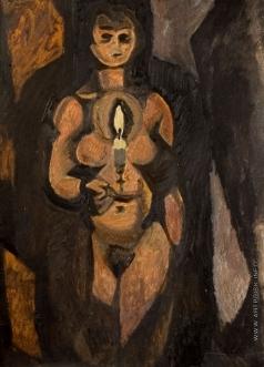 Эльконин В. Б. Модель со свечой