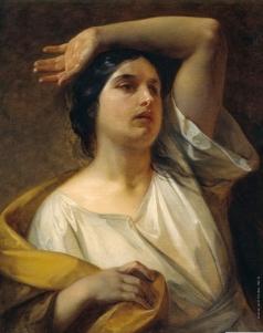 Басин П. В. Женщина с поднятой рукой