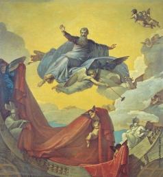 Шебуев В. К. Видение пророка Иезекииля. Эскиз плафона для церкви Св. Екатерины при ИАХ