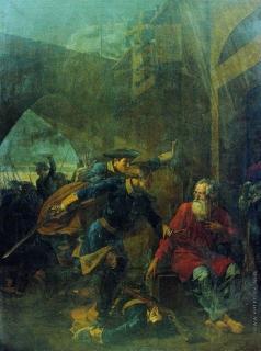 Шебуев В. К. Подвиг купца Иголкина (Эпизод из Северной войны)