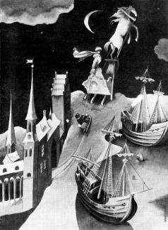 Пивоваров В. Д.  Иллюстрация к сказке Г.Х.Андерсена «Снежная королева»