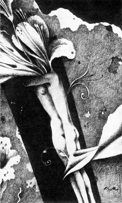 Пивоваров В. Д. Иллюстрация к сборнику Ш.Бодлера «Цветы зла»
