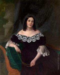 Тыранов А. В. Портрет итальянки