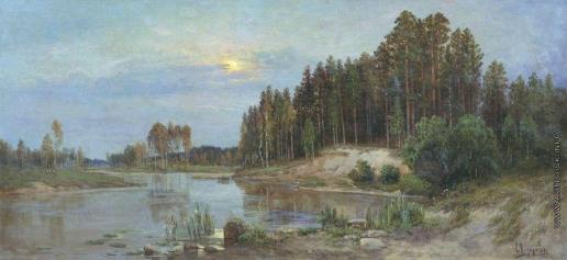 Федоров С. Ф. Река в лесу