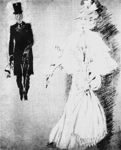 Пименов Ю. И. Иллюстрация к пьесе О.Уайльда «Как важно быть серьезным»
