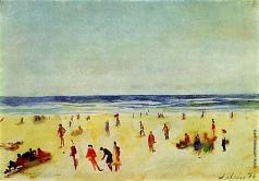 Лабас А. А. Дзинтари. Пляж
