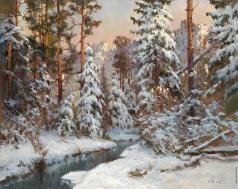 Розен К. И. Зимний лес