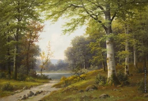 Розен К. И. В лесу