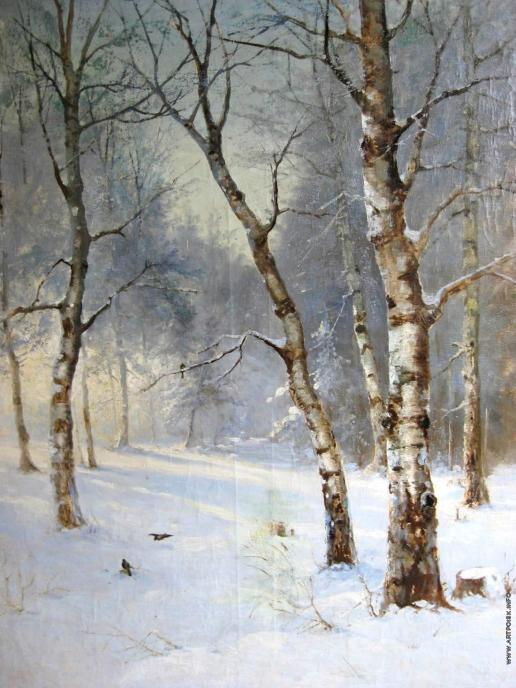 Розен К. И. Зимний пейзаж