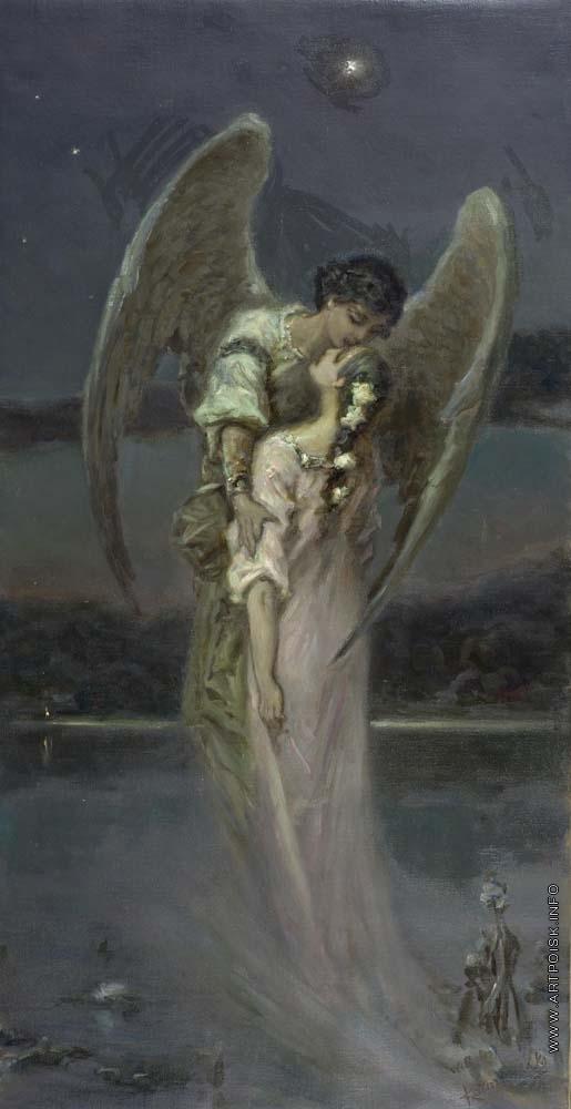 Котарбинский В. А. Девушка и ангел