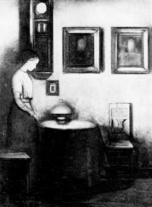 Басов Б. М. Иллюстрация к рассказу А.П.Чехова «Невеста»