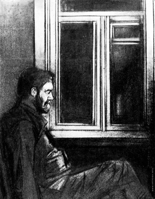 Басов Б. М. Иллюстрация к рассказу А.П.Чехова «Палата № 6″