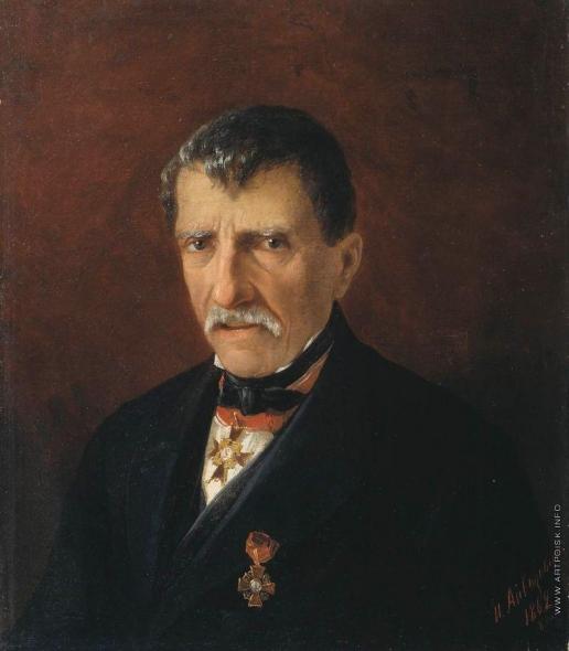 Айвазовский И. К. Портрет А.Халибяна, городской главы Нового Нахичевана