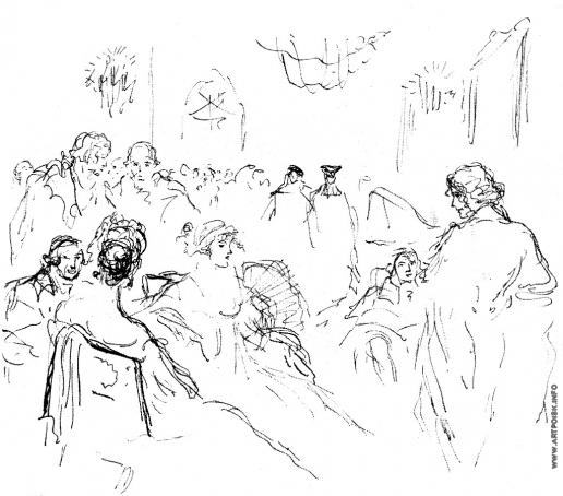 Бехтеев В. Г. Иллюстрация к  «Жан Сбогар». Ш.Нодье