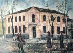 Нестерова Н. И. Розовый дом