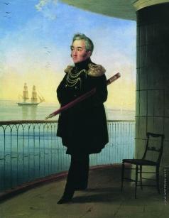 Айвазовский И. К. Портрет вице-адмирала М.П. Лазарева